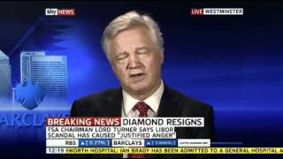 David discusses the Libor Banking Scandal on Sky News