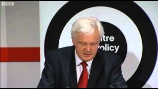 David Davis economy speech shown on Daily Politics