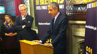 Reform Section 5 Launch with Rowan Atkinson