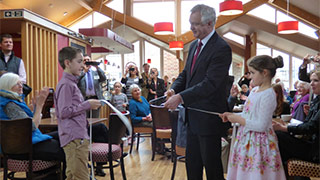 David Davis opens coffee shop in Anlaby Park Methodist Church