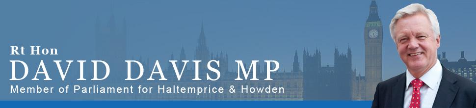Rt Hon David Davis MP