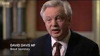 David Davis MP appears on Brexit: Britain's Biggest Deal