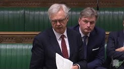 David Davis MP asks question about Health Assessments