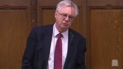 David Davis MP raises the importance of keeping British citizens' data secure ahead of the awarding of a data storage contract.