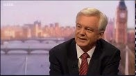 David Davis appears on The Andrew Marr Show