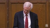 David Davis MP asks why the UK has not extradited alleged perpetrators back to Rwanda