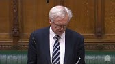David Davis MP asks an urgent question about the use of torture overseas