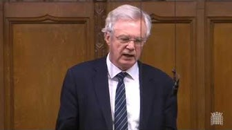 David Davis MP asks a question to the Secretary of State for Education following the improper release of student data to gambling companies