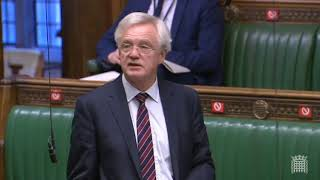 David Davis MP contributes to the debate on Coronavirus tiered restrictions