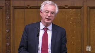 David Davis MP contributes to Covert Human Intelligence Sources Bill: Consideration of Lords Message