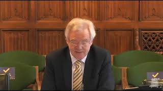 David Davis MP discusses COVID-19 vaccine passports at Public Administration and Constitutional Affairs Select Committee appearance