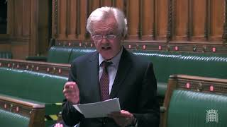 David Davis MP holds Adjournment Debate on the Scottish Civil Service and the Operations of the Scotland Act 1998