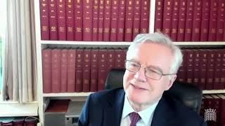 David Davis MP contributes to Overseas Operations Bill Consideration of Lords Message