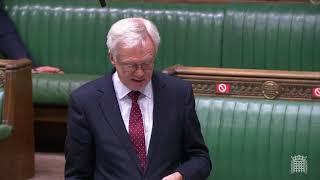 David Davis MP contributes to Overseas Operations Bill debate on Lords Amendments
