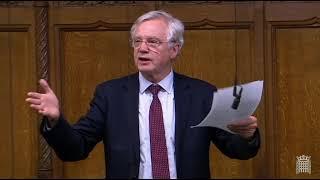 David Davis MP contributes to Third Reading of Finance Bill