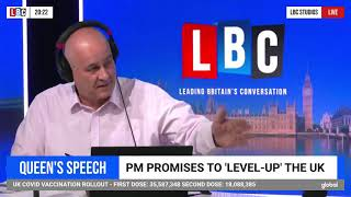 David Davis MP joins LBC's Iain Dale to discuss Voter ID