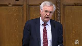 David Davis MP raises a Point of Order concerning Code of Conduct investigations
