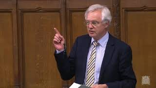 David Davis MP contributes to emergency debate on overseas aid
