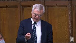 David Davis MP asks House of Commons Leader about vote on Foreign Aid
