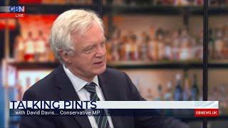 David Davis MP on Talking Pints with Nigel Farage